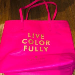 Kate Spade Live Colorfully tote